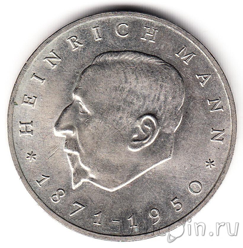 серебряные монеты гдр