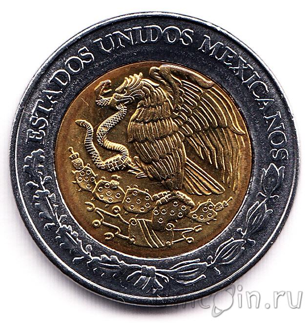Мексика 5 песо 2008 карлос мария де бустаманте